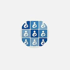 Breastfeeding Symbol Multi Mini Button