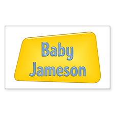 Baby Jameson Rectangle Decal