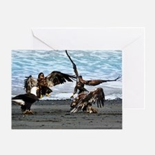 Eagles Greeting or Conflict Greeting Card