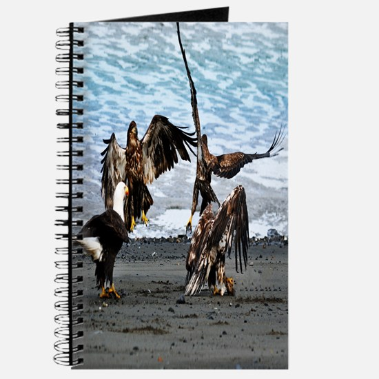 Eagles Greeting or Conflict Journal