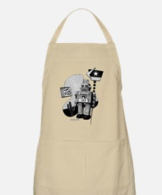 Robot Vacation Apron