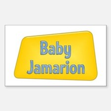 Baby Jamarion Rectangle Decal