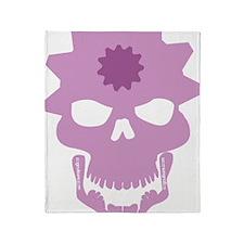skull flipper Throw Blanket