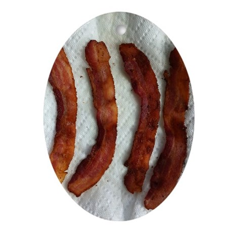 baconphoto Oval Ornament