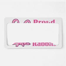CA_036_v01_proudmomrabbit License Plate Holder
