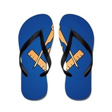 Masonic Square and Compass Flip Flops