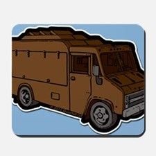 16_FoodTruck_Basic_Brn_BG Mousepad