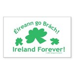 Ireland Forever Rectangle Sticker