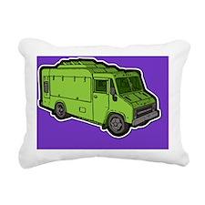 16_FoodTruck_Basic_Grn_B Rectangular Canvas Pillow