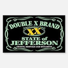 XX Brand Decal