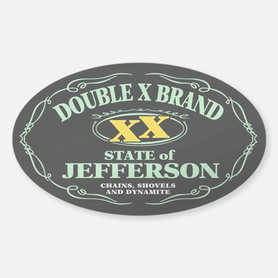 XX Brand Sticker (Oval)