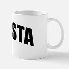 Gansta Bold Black Mug