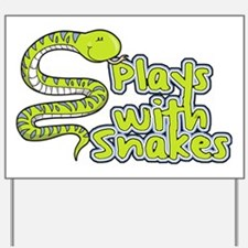 CA_155_v02_playswithsnakes Yard Sign