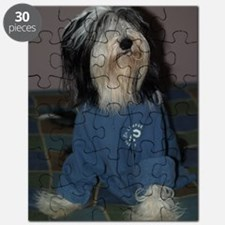 Lilly in blue Puzzle