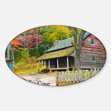 cadesCove_HDR_laptop Sticker (Oval)