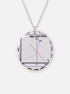 Aggegate Model Modern Necklace