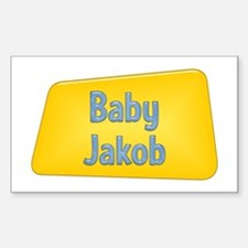 Baby Jakob Rectangle Decal