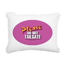 OTG 9 Please do not  Rectangular Canvas Pillow
