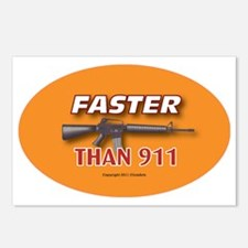 OTG 21 Faster than 911 Postcards (Package of 8)