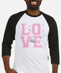 lovemycoastie Baseball Jersey