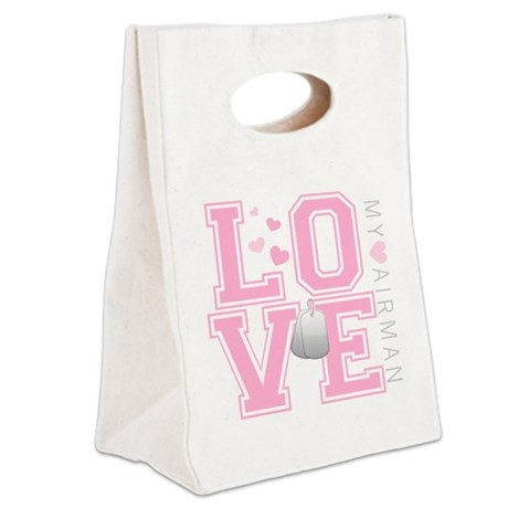 lovemyairman Canvas Lunch Tote