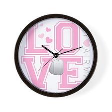 lovemyairman Wall Clock