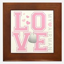 lovemyairman Framed Tile