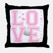 lovemyveteran Throw Pillow