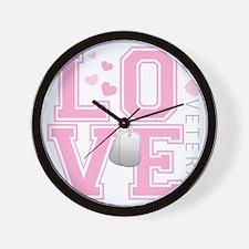 lovemyveteran Wall Clock
