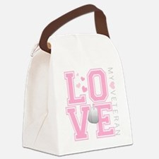 lovemyveteran Canvas Lunch Bag