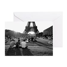 Eiffel 27A-Poster Greeting Card
