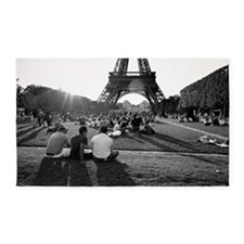 Eiffel 27A-Poster 3'x5' Area Rug