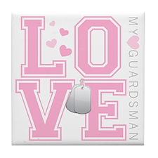 lovemyguardsman Tile Coaster