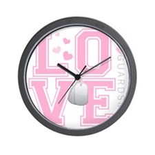 lovemyguardsman Wall Clock