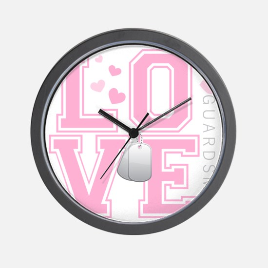 lovemyguardsman Wall Clock