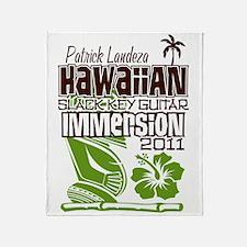 Hawaiian Slack Key Immersion 2011 Throw Blanket