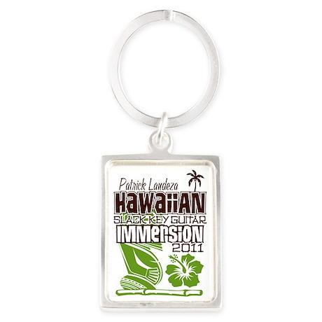 Hawaiian Slack Key Immersion 201 Portrait Keychain