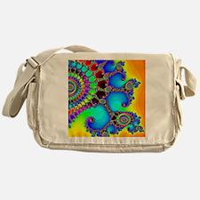 Colorful Coastline Messenger Bag