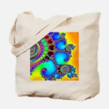 Colorful Coastline Tote Bag