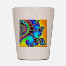 Colorful Coastline Shot Glass
