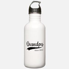 Funny Grandpa to be 2015 Water Bottle
