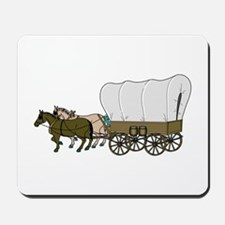 Covered Wagon Mousepad