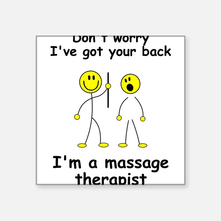MUST HAVE for massage therapist Sticker