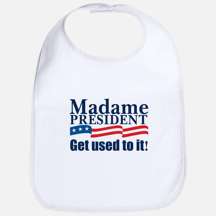 MADAME PRESIDENT Bib