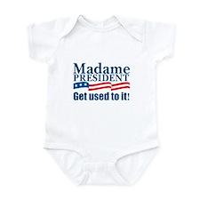 MADAME PRESIDENT Infant Bodysuit