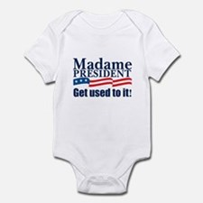 MADAME PRESIDENT Infant Bodysuit