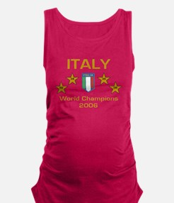 italy.PNG Maternity Tank Top