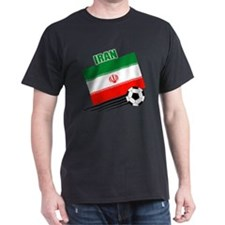 Iran soccer  ball lt T-Shirt