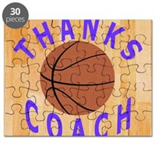 Thanks Basketball Coach Unique Gifts Puzzle