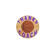 Thanks Basketball Coach Gift Mousepad Mini Button